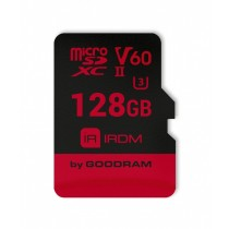 GoodRam Karta Pamięci micro SDXC IRDIM 128GB V60 UHS-II U3 + Adapter