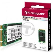 Transcend SSD M.2 2242 SATA 6GB/s, 64GB, MLC (read/write; 450/90MB/s) NGFF