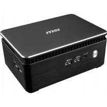 MSI Komputer Cubi 3 SILENT S-005BEU nOS/i3-7100/IntHD 620/czarny