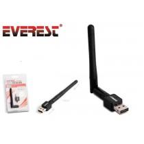 Everest Karta sieciowa EWN-687N 150 Mbps USB + Antena