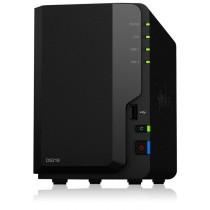 Synology DS218, 2-Bay SATA 3G, Realtek 4C 1.4GHz, 2GB RAM, 1x GbE LAN, 2xUSB 3.0