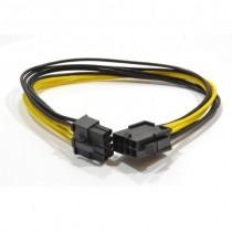 Gembird Przedłużacz 6+2 pin PCI express wewnętrzny 0.3m