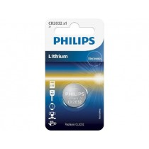Philips Bateria CR2032 3V PHILIPS Litowa 1 Sztuka blister