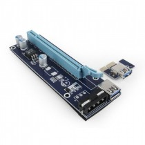 Gembird Karta Riser dla PCI Express zasilana z SATA
