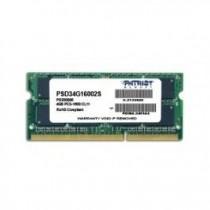 Patriot 4GB 1600MHz DDR3 Non-ECC CL11 SODIMM