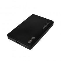 LogiLink - Obudowa zewnętrzna dysku 2.5 cala, SATA, USB 3.0, 6.35 cm, czarny