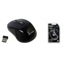 Vakoss Bezprzewodowa Mysz Optyczna TM-687UK 4D, 800/1200/1600DPI, 2.4GHz, czarna