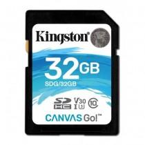 Kingston 32GB SDHC Canvas Go 90R/45W CL10 U3 V30