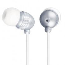 Esperanza Słuchawki Douszne Stereo EH126 Biało - Srebrny