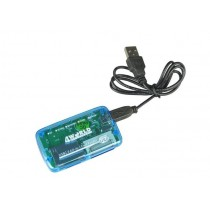4World Uniwersalny czytnik kart flash 26w1 pod USB 2.0