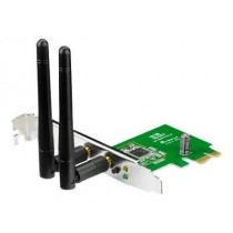 Asus PCE-N15 Wireless PCI-E card 802.11n, 300Mbps (2T2R)
