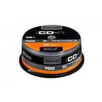 Intenso CD-R 700MB 52x Printable Fullface (cake box, 25szt)