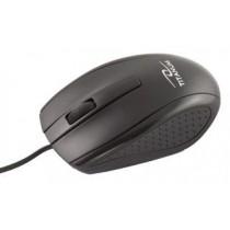 Titanum TITANUM Przewodowa Mysz Optyczna TM110K USB MARLIN 3D| 1000 DPI | Czarna| BLISTE