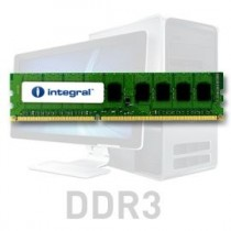 Integral DDR3 2GB 1066MHz ECC CL7 R1 Unbuffered 1.5V