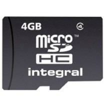 Integral micro SecureDigital HC 4GB (class 4)