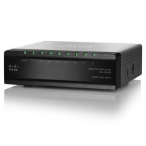 Cisco Systems Cisco SLM2008PT SG200-08P 8-port Gigabit, Smart Switch, Zam: SG250-08HP-K9-EU