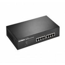 Edimax 8x 10/100/1000Mbps Switch, 4x PoE+ ports, 802.3at/af, 80W budget (30W/p.)