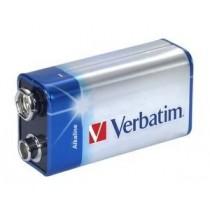 Verbatim ALKALINE BATTERY 9V 1PACK