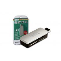 Digitus Czytnik kart USB 2.0 jako stick, SDHC, MMC, MS i Micro SD