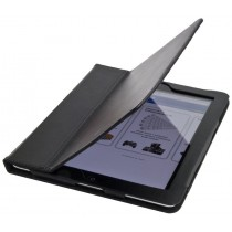 Esperanza Etui - stojak dla iPad 2 oraz New iPad (iPad 3)|Dwa Ustawienia |Czarne