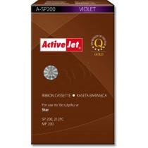 ActiveJet Kaseta barwiąca A-SP200 (do drukarki Star zamiennik SP200 fiolet)