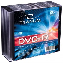 Esperanza DVD-R TITANUM [ slim jewel case 10 | 4.7GB | 8x ]