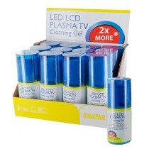 4World Zestaw czyszczący LED/LCD/PLAZMA TV | 200ml żel | szmatka