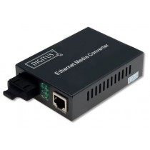 Digitus konwerter Fast Ethernet 10/100BaseTX(RJ45) / 10/100BaseFX MM SC Duplex,