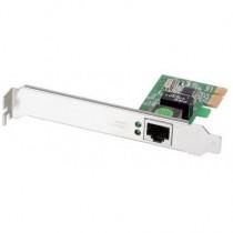 Edimax Gigabit LAN Card, RJ45, PCI Express, additional low profile bracket incl.