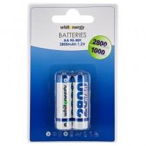 Whitenergy akumulatory - baterie AA/R6 2800mAh Ni-MH, 2 szt