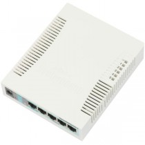 MikroTik RB260GS SwitchOS 5xGig LAN, 1xSFP,web browser Soho Switch, plastic case