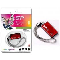 Silicon-Power Pendrive Silicon Power Touch 810 8GB USB 2.0 Swarovski Red