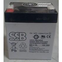 Eaton SSB akumulator 12V/5Ah - faston 4,8 mm