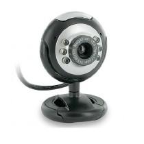 4World Kamera internetowa 2.0MP USB 2.0 z podświetleniem LED + mikrofon