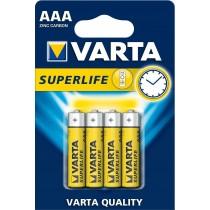 VARTA Baterie Varta Superlife, Micro R3/AAA - 4 szt