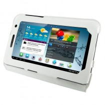 4World Etui - stand dla Galaxy Tab 2, Ultra Slim, 7'', białe