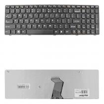 Qoltec Klawiatura do laptopa IBM/Lenovo B570 B575 Z570 CZARNA