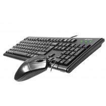 A4 Tech Zestaw Klawiatura+mysz KM-72620D USB Black