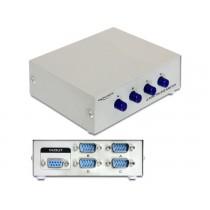 DeLOCK Przełącznik Splitter RS-232 - 4 porty