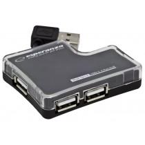 Esperanza HUB 4 PORTY USB 2.0 EA124
