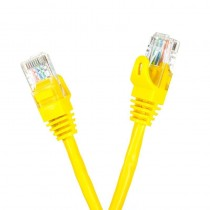 Digitalbox START.LAN Patchcord UTP cat.5e 0.25m żółty