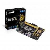 Asus H81M-K, H81, DualDDR3-1600, SATA3, DVI, uATX