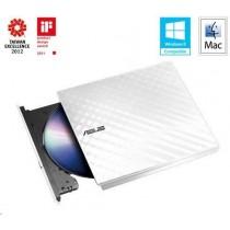 Asus ASUS DVD Writer SDRW-08D2S-U LITE/WHITE, External Slim DVD-RW, white, USB