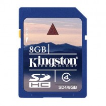 Kingston Karta pamięci SDHC 8GB Class4