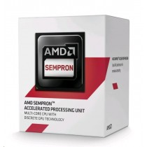 AMD Sempron 3850, Quad Core, 1.30GHz, 2MB, AM1, 28nm, 25W, VGA, BOX
