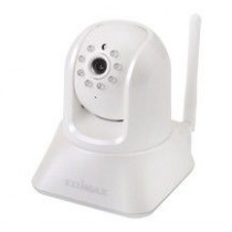 Edimax Night IR Wireless IP Camera, motorized pan/tilt, Plug&View, audio, AVI