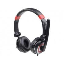 Gembird słuchawki stereofoniczne z mikrofonem i regulacją głośności(virtual 5.1)