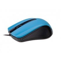 Gembird mysz optyczna USB, 1200 DPI, USB, czarno-niebieska
