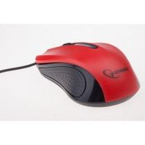 Gembird mysz optyczna USB, 1200 DPI, USB, czarno-czerwona