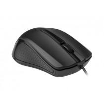 Gembird mysz optyczna USB, 1200 DPI, USB, czarna